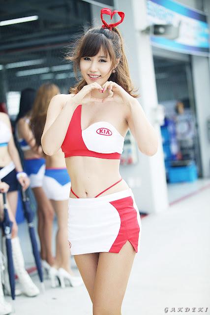 6 Song Jina - Korea Speed Festival R2 2012-very cute asian girl-girlcute4u.blogspot.com