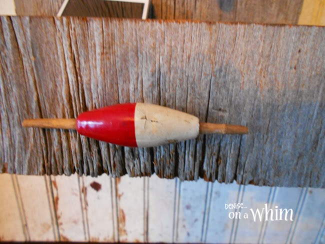 Vintage Fishing Bobber | Fishing Reel Key Hook & Organizer from Denise on a Whim