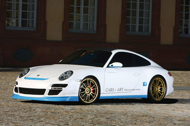 2011 Cars & Art Porsche 911 Carrera 4S