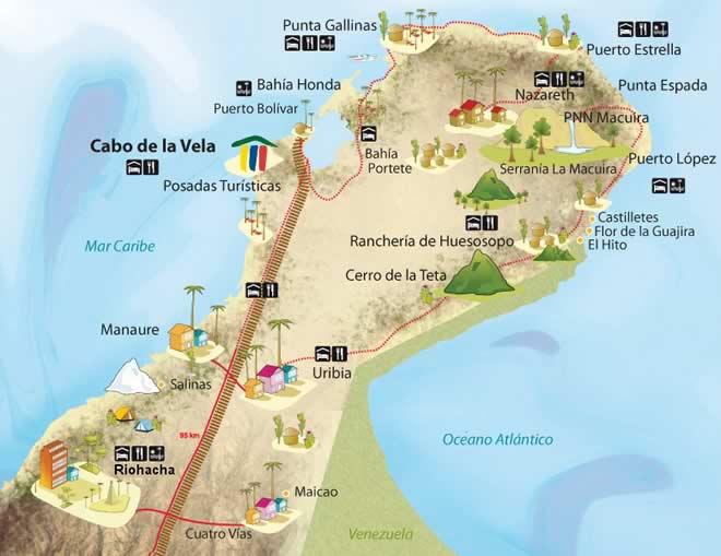 CABO DE LA VELA - MARAVILLA NATURAL EN COLOMBIA