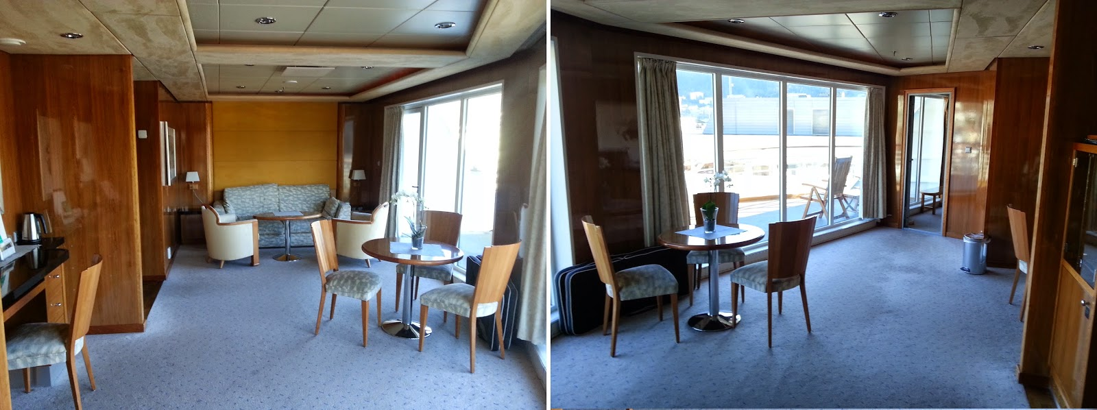 Hurtigruten MS Trollfjord - Owner's Suite