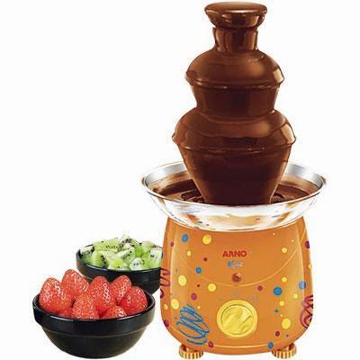 Fonte de Chocolate com Frutas