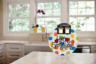Bright Dot Platter with Scoreboard Attachment