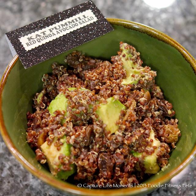 Red Quinoa Avocado Salad Recipe