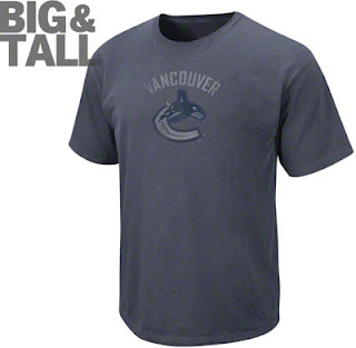 Big and Tall Vancouver Canucks NHL Logo T-Shirt