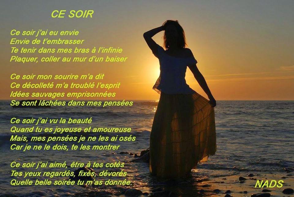 poème d'amour avec image
