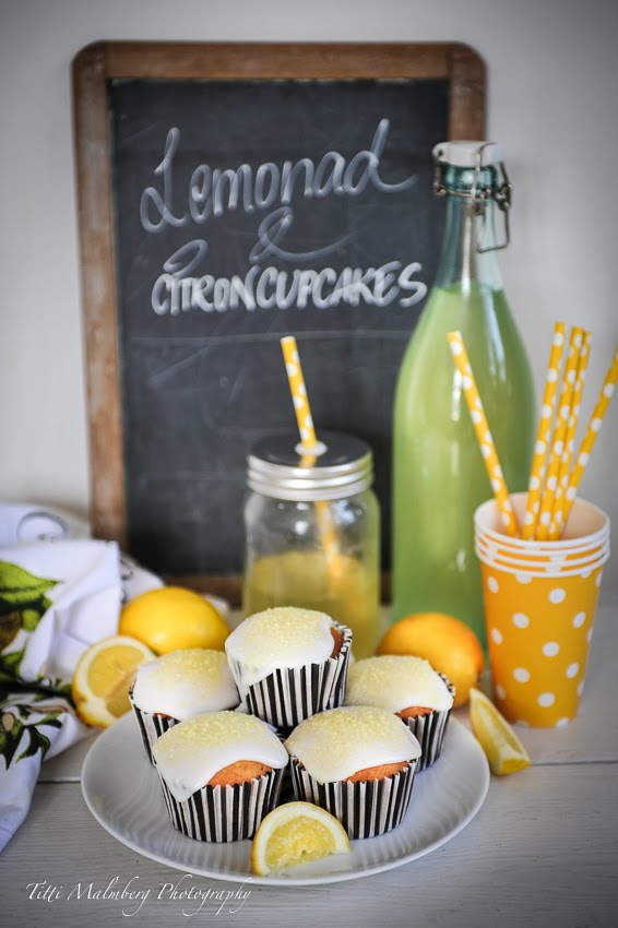 LEMONAD & CITRONCUPCAKES...