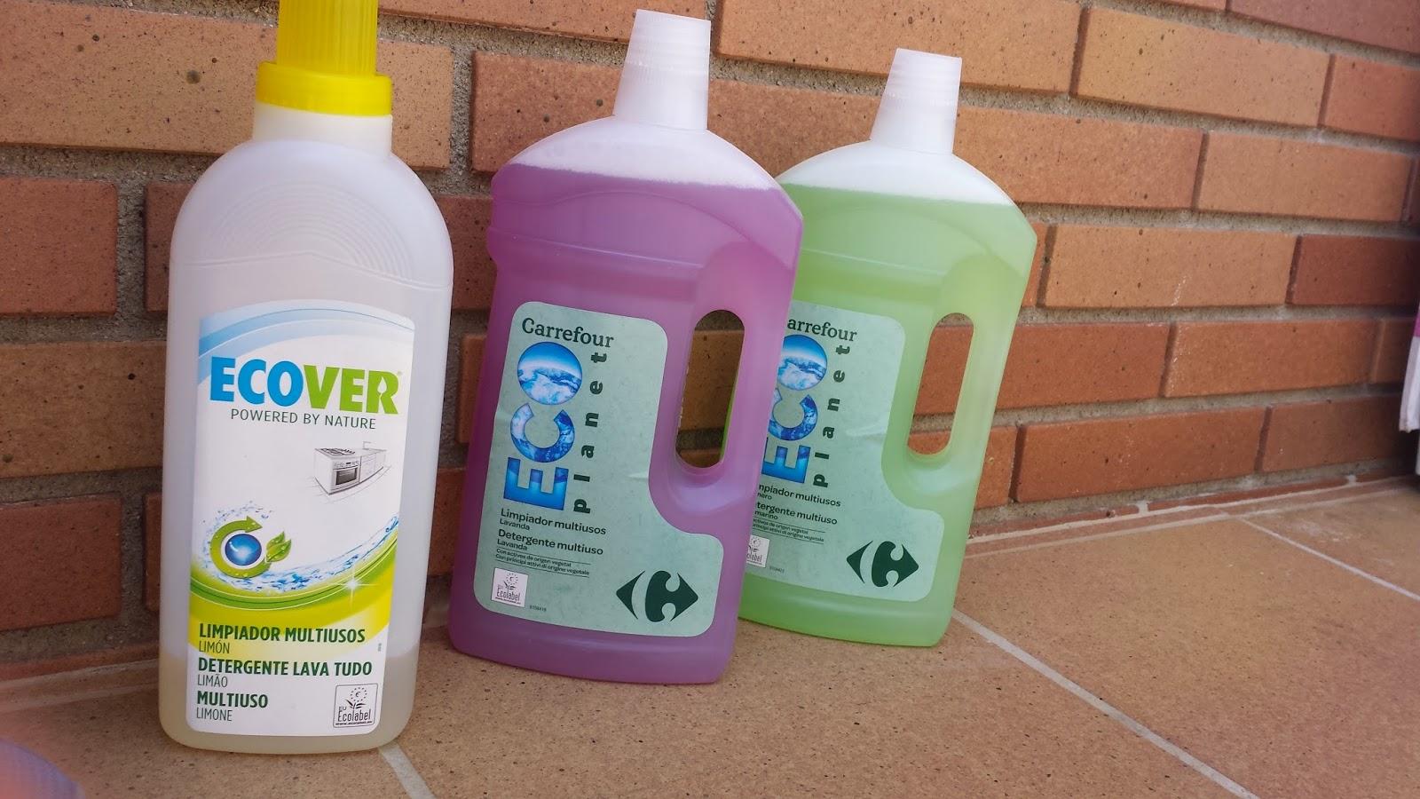 Productos limpieza ecologicos mercadona