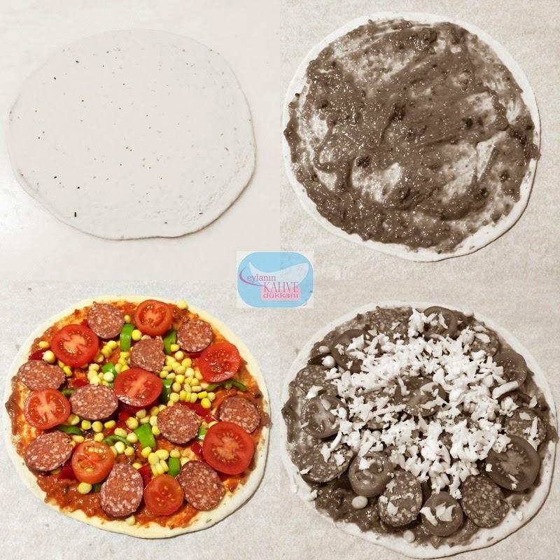 gerçek italyan pizzası