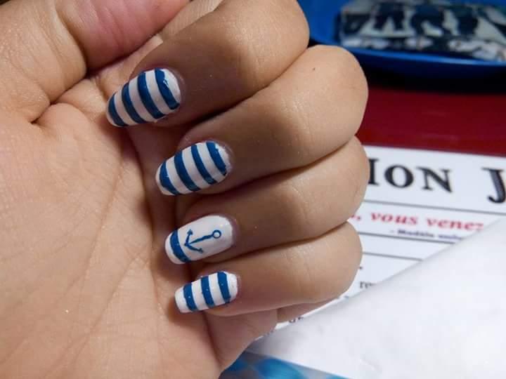 nail art marin