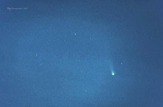 Berburu Komet ISON di Langit Indonesia