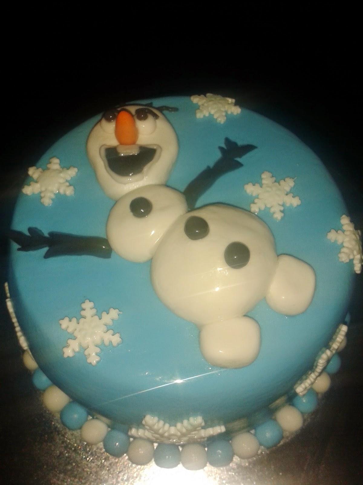 TARTA  OLAF  (FROZEN)