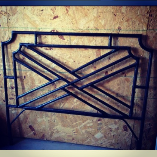 repurposed life designs chinese chippendale headboard makeover. Black Bedroom Furniture Sets. Home Design Ideas