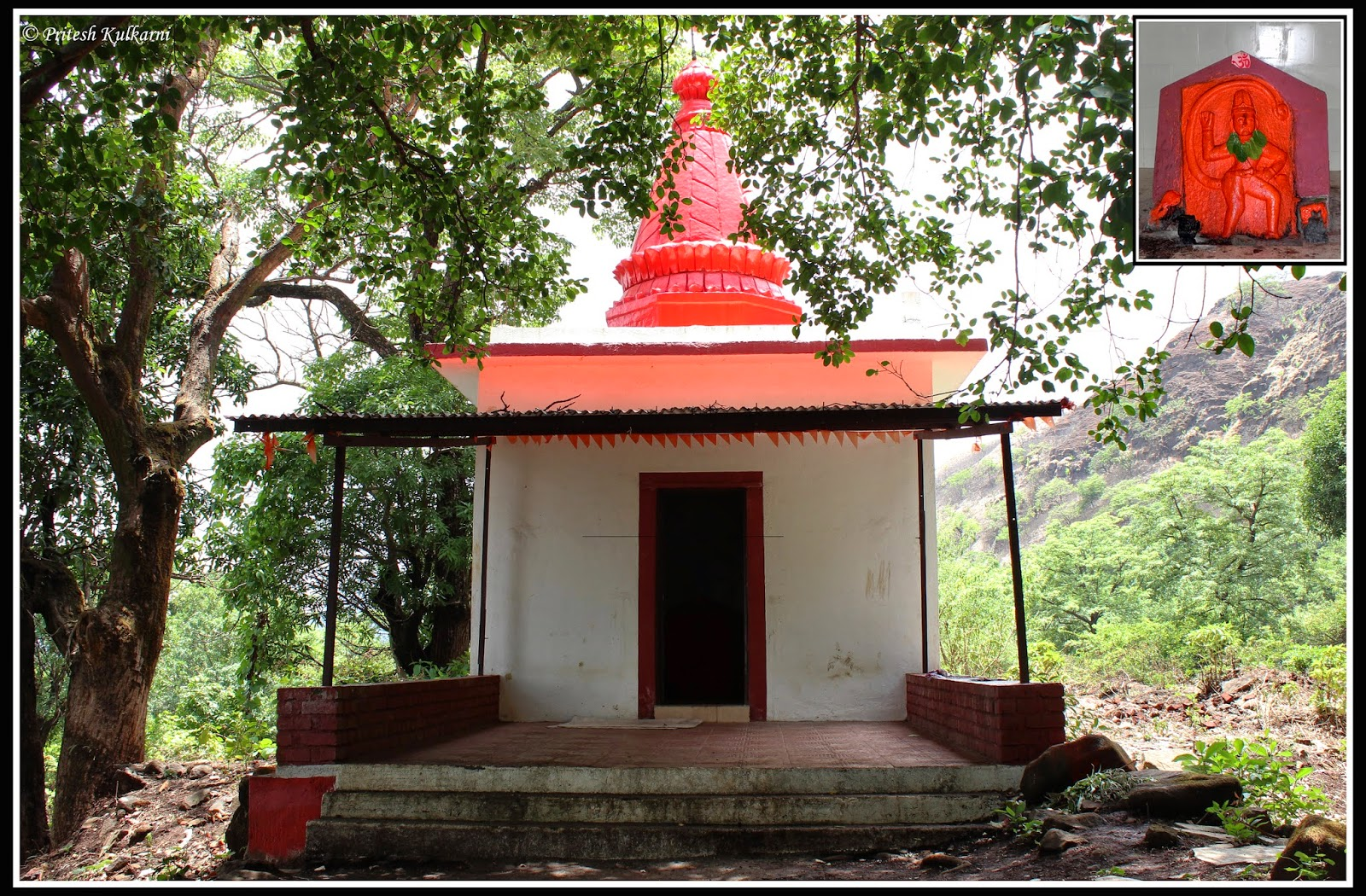 Hanuman temple at tung fort