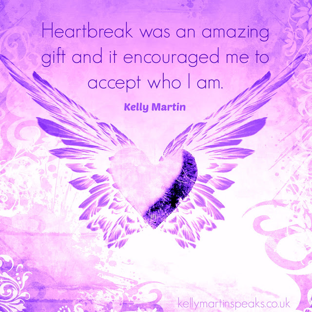 Heartbreak gift acceptance quote