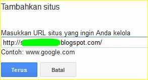 cara mendaftarkan blog ke google