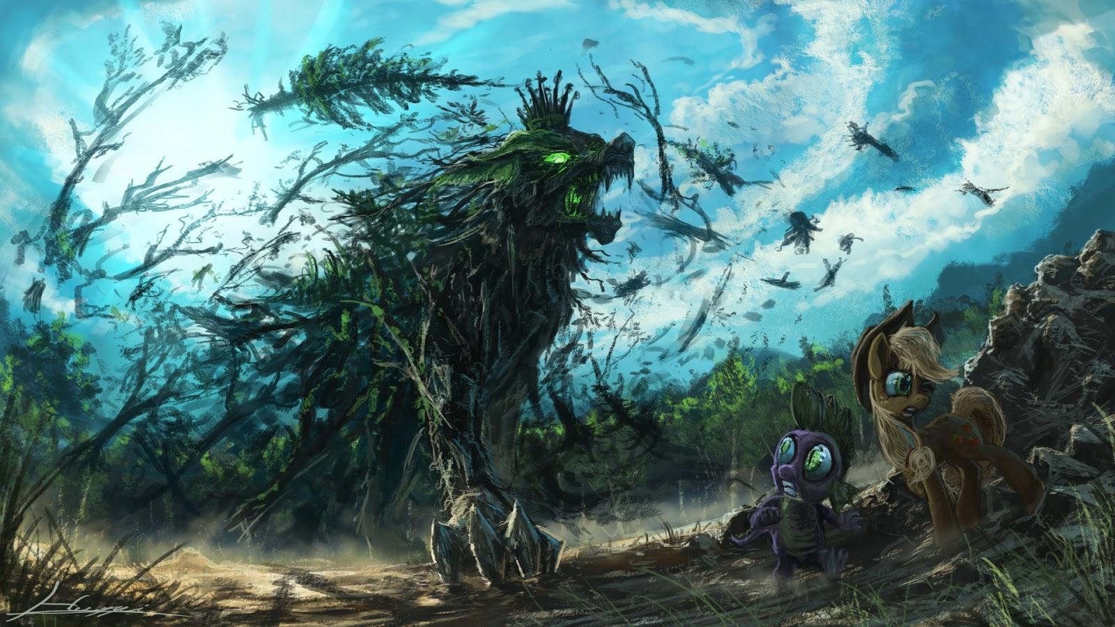 forest battle star war: