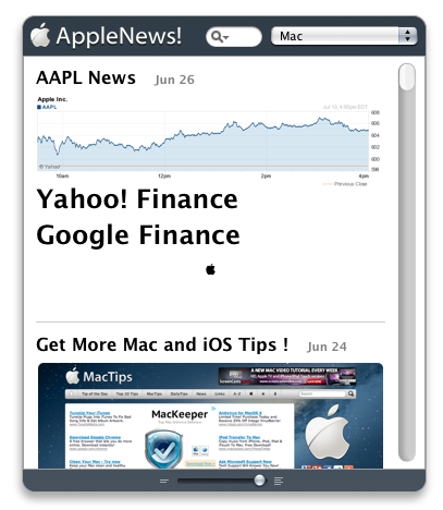 17. AppleNews! – Get The Latest.