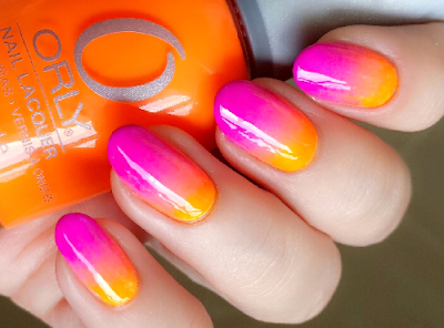 Awesome Color Mix Nail Art Designs