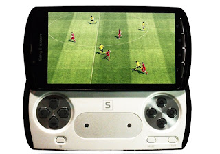 Sony Ericsson Xperia Play smartphone images