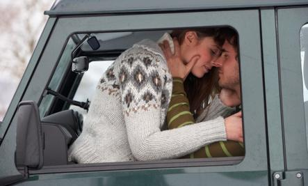 How to Jumpstart Your Sex Drive  - sex Make out in a car - man woman kissing