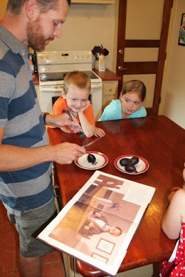 Activity Idea for THE SWEETEST FIG by Chris Van Allsburg via www.happybirthdayauthor.com