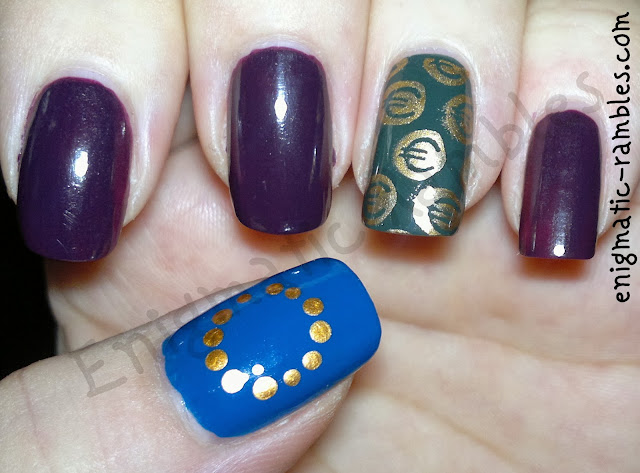 euro-european-opi-honk-if-you-love-models-own-true-blue-elf-copper-machine-green-cheeky-stamping-plate-CH54