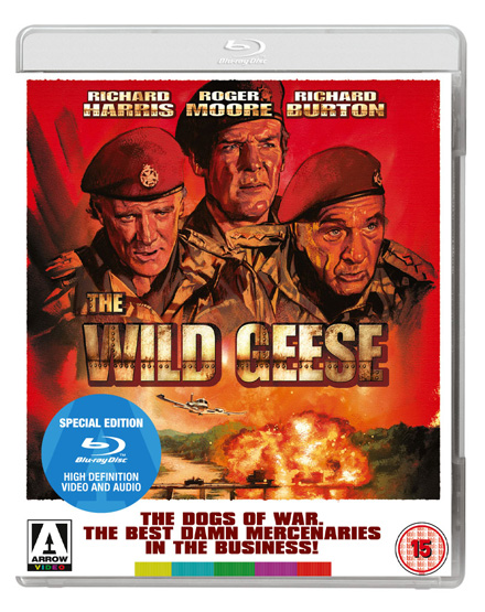 The Wild Geese Blu-ray Poster