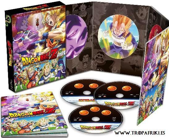 Dragon Ball Z: La Batalla De Los Dioses - Edición Coleccionista Metal (DVD + BD) [Blu-ray]