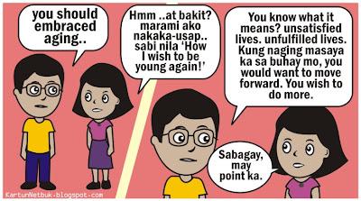 ang pagtanda, aging comics, pinoy