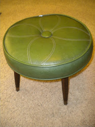 retro foot stool...SOLD