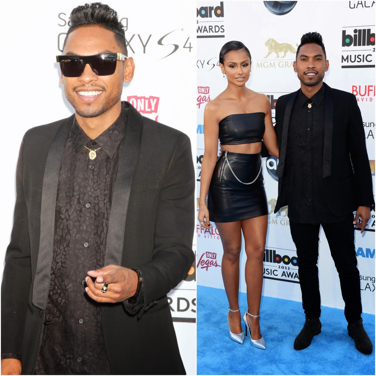 00O00 Menswear Blog: Miguel in Saint Laurent - 2013 Billboard Music Awards