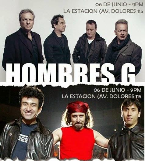 Tributo a Hombres G y Prisioneros en Arequipa - 06 de junio