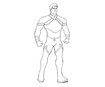 #1 Aquaman Coloring Page