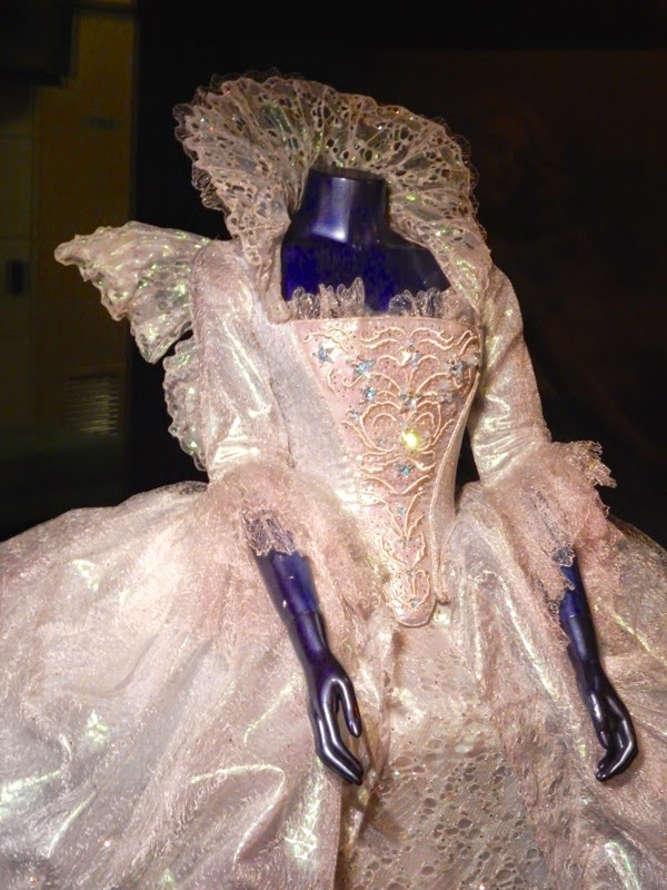Fairy Godmother Cinderella costume detail