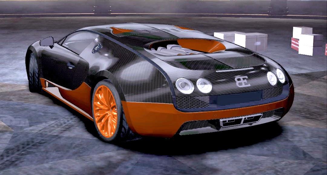 Bugatti Veyron Super Sport v1.1 back