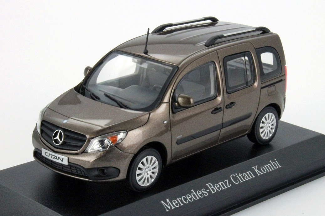 mercedes benz citan kombi und kastenwagen von minichamps modellauto news. Black Bedroom Furniture Sets. Home Design Ideas
