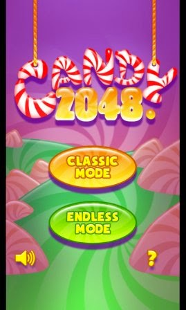 Game Simpel Puzzle Asah Otak Candy 2048 APK Android