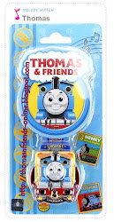 Thomas 3D hand watch musical-blue