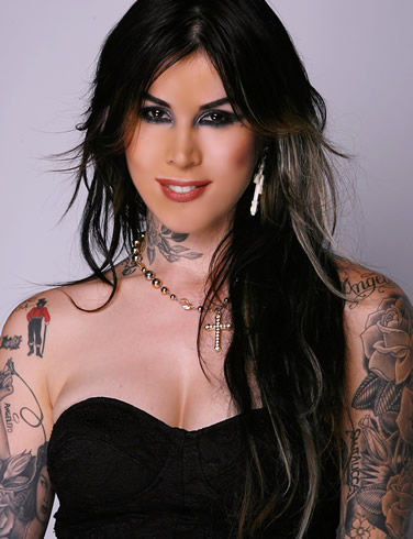different kat von d tattoo