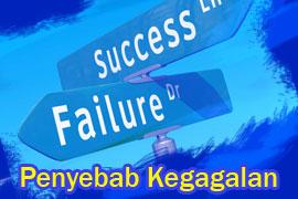 Penyebab Kegagalan