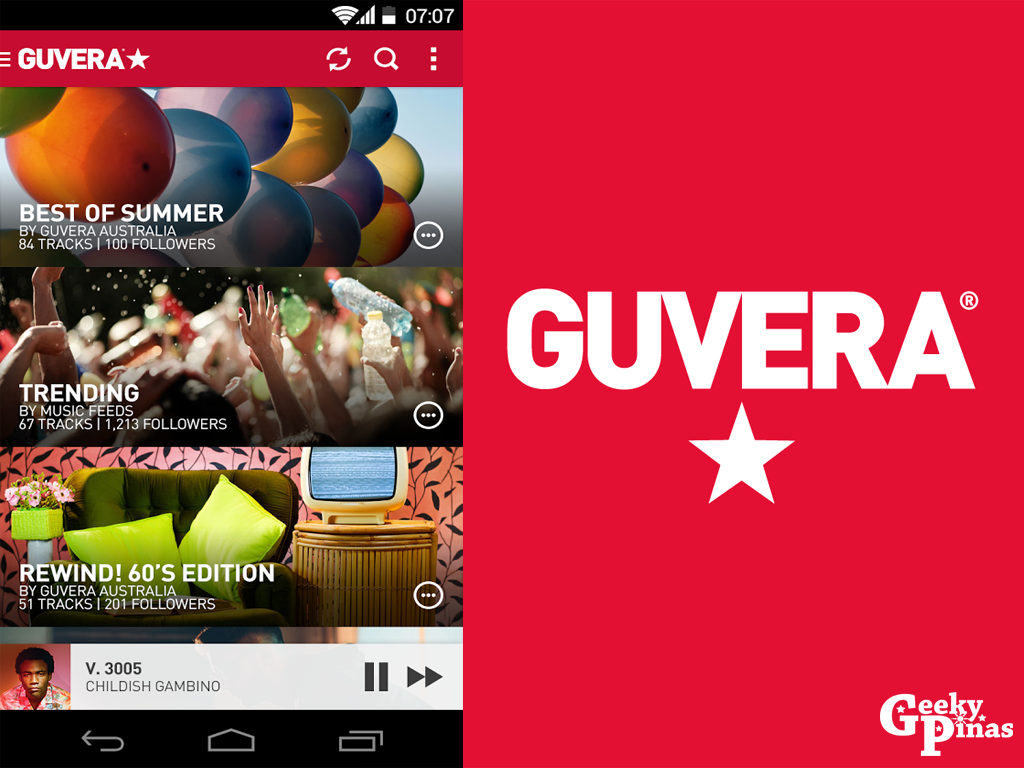 Guvera Now Provides Free, Unlimited Music Access to Users in the Philippines