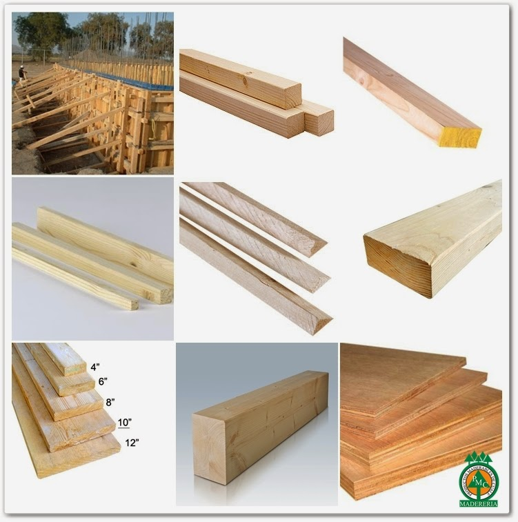 Productos maderables de cuale usos de la madera como - Tipos de materiales de construccion ...
