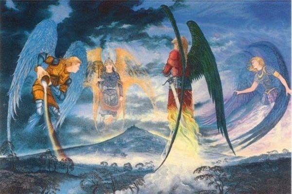 Origine della Pasqua 4ARCANGELES