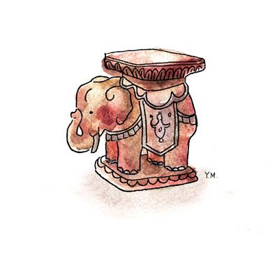 Elephant by Yukié Matsushita