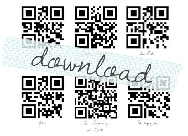 Kostenloser Download: QR Codes zum Geburtstag