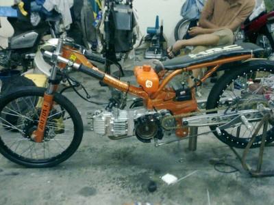 honda ex5 drag race modified