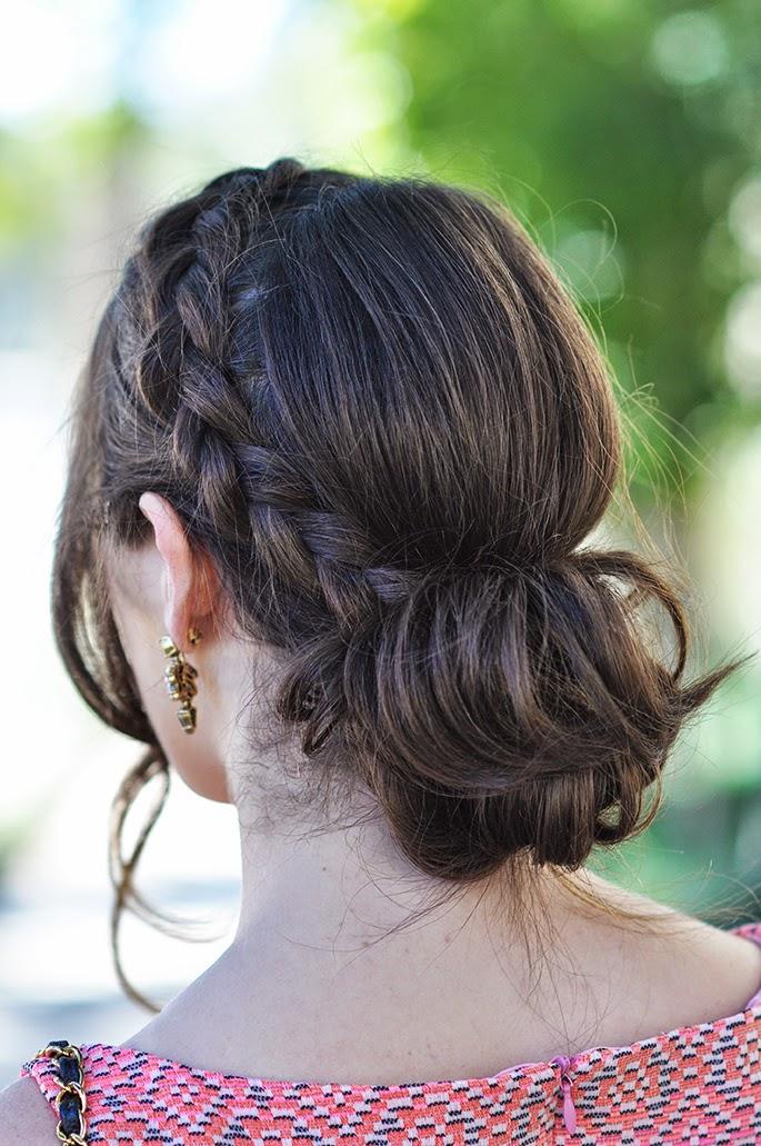 braided updo