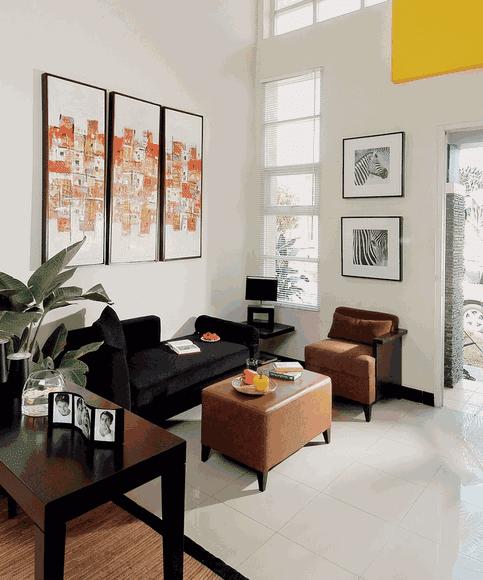 inspirasi sederhana untuk ruang tamu mungil