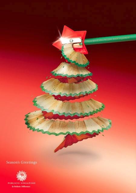creative christmas ads